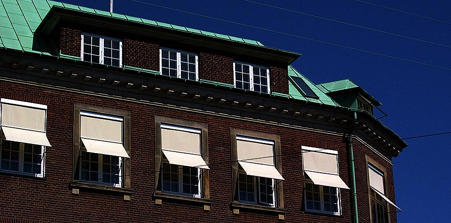 Udvendig solafskærmning er mest effektiv | Fischer